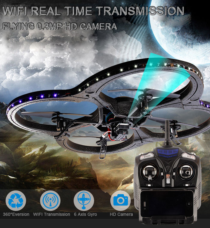 JXD 391W FPV WIFI avec Camera 0.3MP