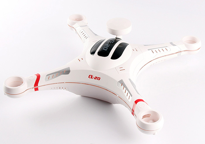 Body Cover Shell Set with Battery Cover for CX-20 RC Quadcopter