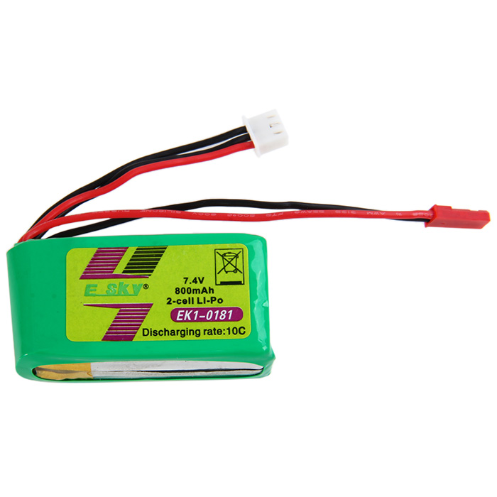 Batterie ZOP Power Lipo 10C 7.4V 800mAh