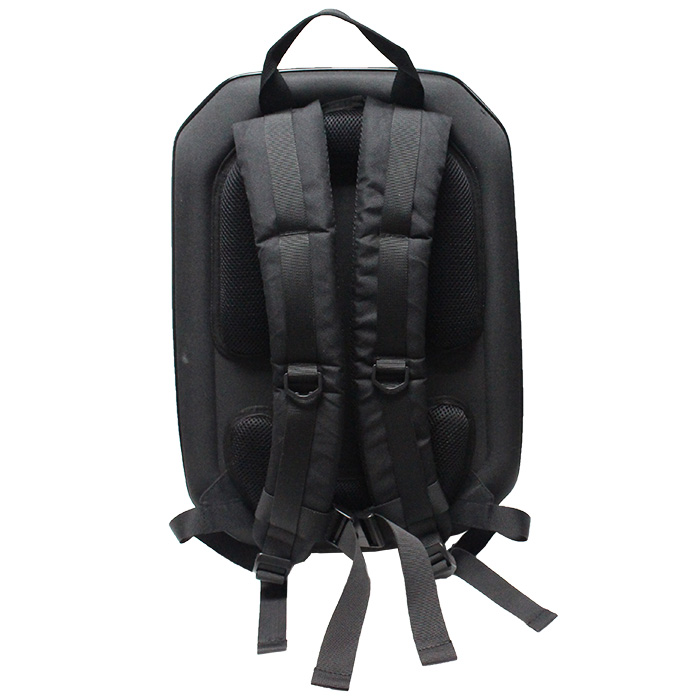 sac dos coque rigide waterproof noir pour dji phantom 3. Black Bedroom Furniture Sets. Home Design Ideas