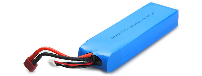 Batterie 10C 11.1V 5000MAH pour Flying 3D X8