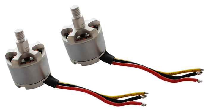 2 Moteurs Brushless 2212 KV1250 (CW † CCW) for QW350-02 / F450 / DJI Phantom 1 et 2