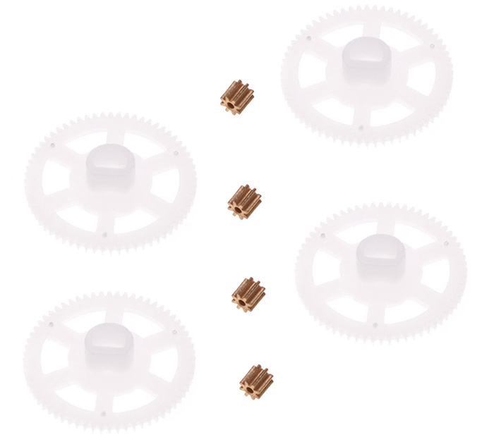 Gear Copper Tooth Set for WLtoys V686