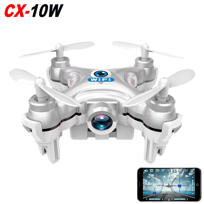 Cheerson CX-10W WiFii FPV with 720P Camera (Grey) - EXPRESS DELIVERY