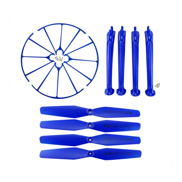 Pack Protector & Landing Gear & Propeller for Syma X5HC X5HW (BLUE)