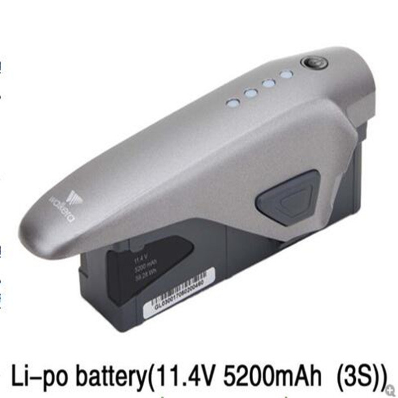 Batterie LiPo Intelligente 11.4V 5200mAh 3S Originale pour Walkera VITUS 320