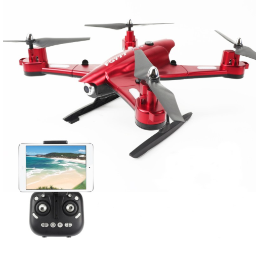 FQ777 FQ02W FPV WiFi Pliable avec Caméra 0.5MP Camera - ROUGE