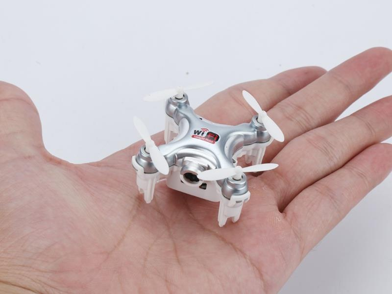 Cheerson CX-10WD Mini FPV WiFi (Gris)