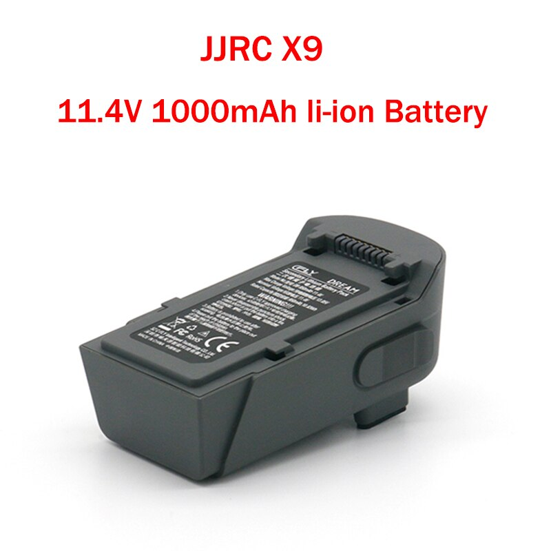 Batterie Li-on 11.4V 1000mAh pour JJRC X9