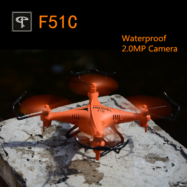 GPTOYS F51C Waterproof avec Caméra 2.0MP (ORANGE)