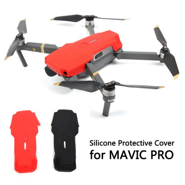 1 pc Silicone Housse De Protection Drone Cas de Protection Du Corps pour DJI MAVIC PRO.jpg 640x640