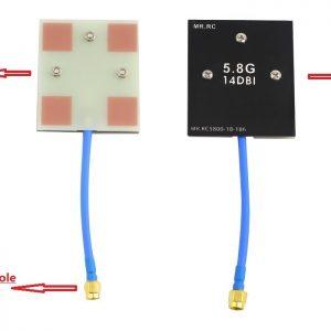 1436983430119 mr rc 5 8g 14dbi antena de panel de alta ganancia para dji phantom 1 2