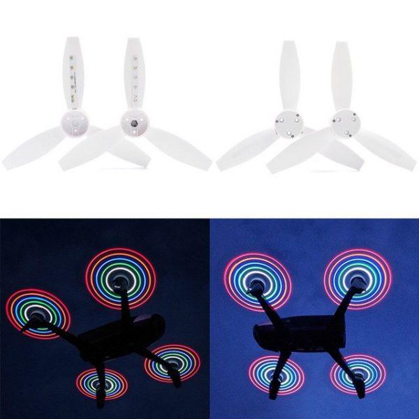 2 4 pezzi Parrot Bebop 2 FPV Drone LED flash H lices Per Parrot Bebop 2.jpg 640x640