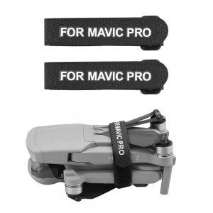 2 cinghie stabilizzatrici di protezione dell'elica per DJI Mavic Pro Mavic Air 2 Mavic 2 Pro Zoom Spark NERO