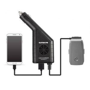 2 dans 1 Batterie Chargeur avec USB Chargeur De Voiture pour DJI MAVIC 2 PRO ZOOM.jpg 640x640
