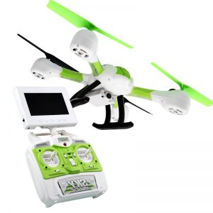 2015 New SKY Hawkeye HM1315 5 8G Real time Transmission FPV RC Quadcopter with 0 3MP