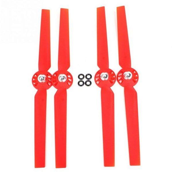 355x70mm ABS y vidrio Eficiente Silenciador Fibra H lices Rotor Blade Set para YUNEEC Typhon Q500M.jpeg 640x640 rojo