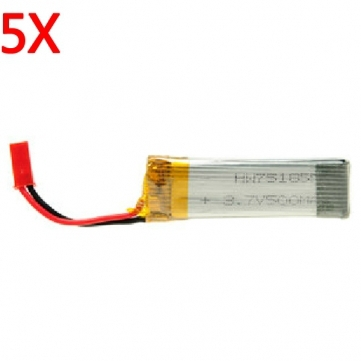 5 pcs lots UDI lipo Battery 3 7V 500mAh For U817 U817C U817A U818A RC Quadcopter