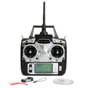 Flysky FS T6 V2 2 4GHz 6CH Transmitter For V959 Syma X1 Mode 2