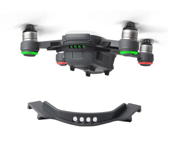 Fuselage Battery Anti slip Strap Buckle Cover Battery Buckle Holder for DJI Spark Drone Spare Part gris