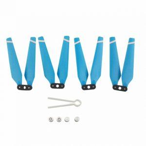 Helices repliables pour Hubsan H501S H501C H501A H501C H501M H501S W H501S pro MJX B2C.jpg bleu