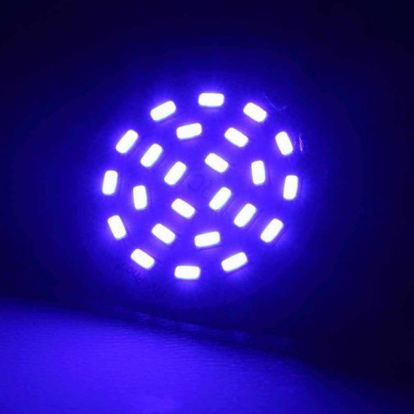 LED Headlamp for DJI PHANTOM 3g decorative head light white blue color201