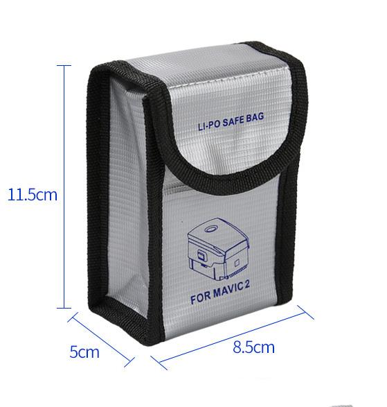 LiPo Safe Batterie De Protection Sac De Rangement pour DJI Mavic 2 Pro Mavic 2 Zoom 1