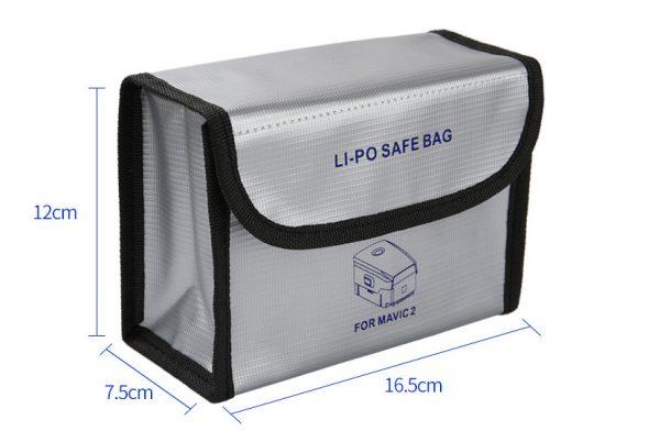 Custodia protettiva per batteria LiPo Safe per DJI Mavic 2 Pro Mavic 2 Zoom 3