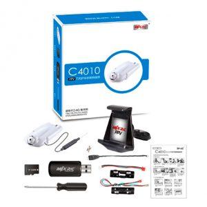 MJX C4010 FPV 720P Real Time Aerial Camera Set for MJX X101 X800 X600 X500 X400