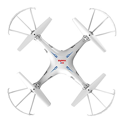 MKT syma X5SC 1 24G 4 Channel 6 Axis Gyro RC Headless Quadcopter With HD Camera White X5SC 0