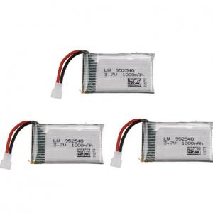 Syma X5 X5C X5SC X5SW TK M68 CX30 K60 90520V931 battery batterie 1000mah 3pcs