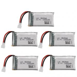 Syma X5 X5C X5SC X5SW TK M68 CX30 K60 90520V931 battery batterie 1000mah 5pcs