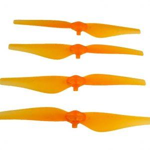 Transparent Quick Release Propeller DJI Mavic Air orange