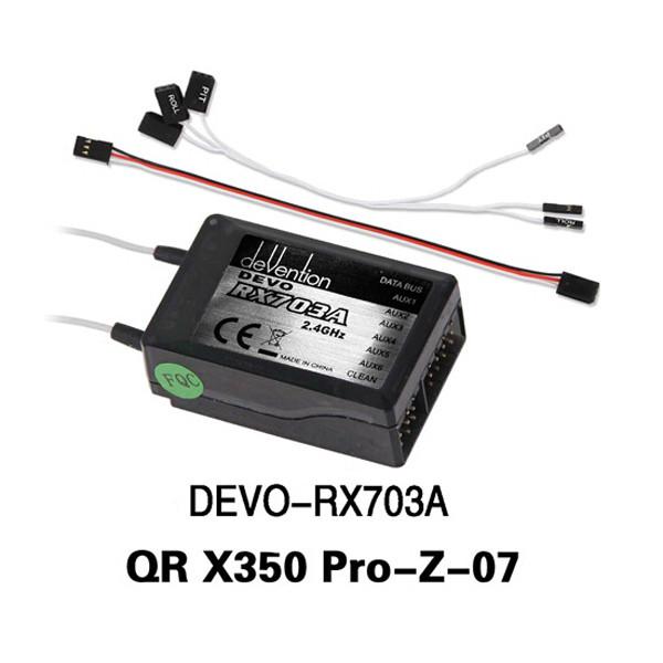 Walkera QR X350 Pro RC Quadcopter Spare Parts Receiver DEVO RX703A