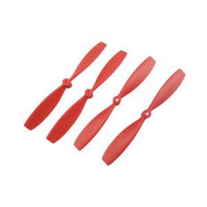 XIAOMI MITU RC Drone Eliche CW CCW Puntelli Ricambi Accessori Rosso Nero Bianco 4 pezzi / lotto rosso