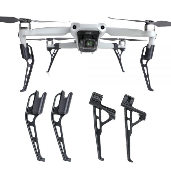 dji mavic air 2 extended landing skid extension pieds train atterrissage