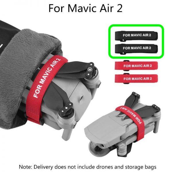 dji mavic air 2 soporte de hélice estabilizador protección hélices negro