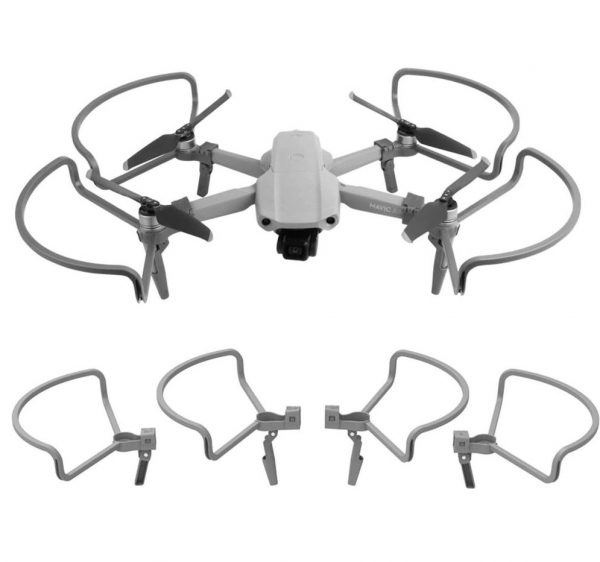 dji mavic air 2 propeller protection cadres helices extension pieds sunnylife