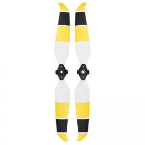 dji mavic air 2 propellers helices 7238F blanc jaune noir