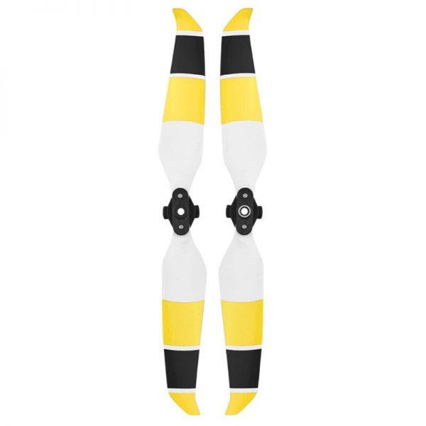 dji mavic air 2 eliche eliche 7238F bianco giallo nero