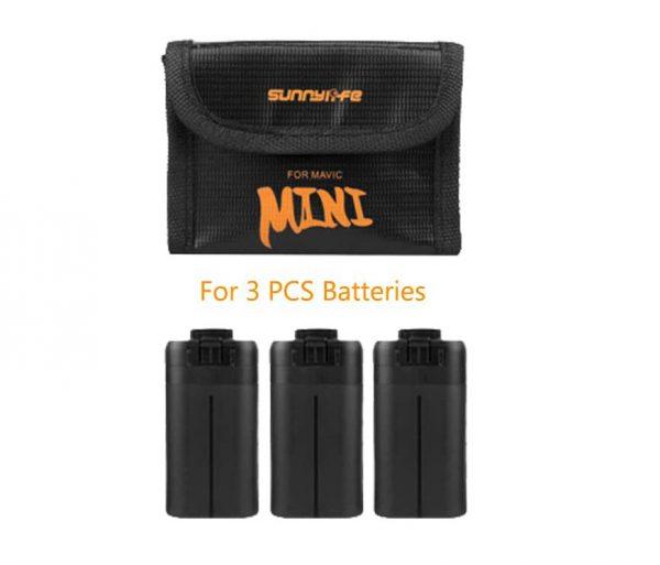 borsa di protezione della batteria mini batteria dji mavic 3