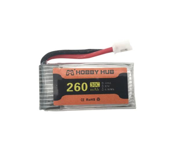 eachine e010 e011 e012 e01 batteria furibee f36 260mah 1pz