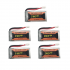 eachine e010 e011 e012 e01 furibee f36 battery batterie 260mah 5pcs