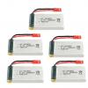 jjrc h11c h11d battery batterie 1200mah 5pcs
