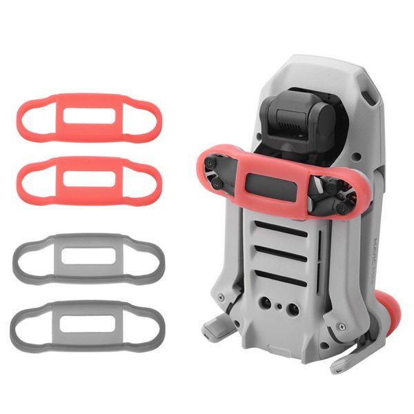 mavic mini air stabilisateur helices rouge gris