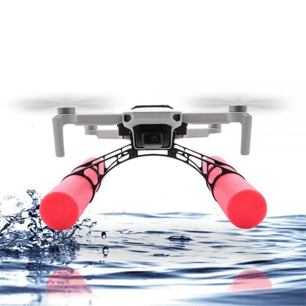 mavic mini landing water flotteurs eau