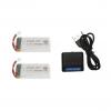 syma X5 X5C X5SC X5SW battery batterie charger chargeur usb 1800mah 2pcs