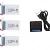 syma X5 X5C X5SC X5SW battery batterie charger chargeur usb 800mah 3pcs