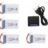 syma X5 X5C X5SC X5SW battery batterie charger chargeur usb 800mah 4pcs