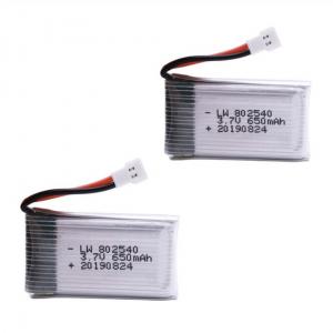 Syma X5C X5C 1 X5 X5SC X5SW M68 K60 HQ 905 CX30 batería 650mah 2pcs
